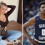 NBA/HS – Le recadrage sec de Bronny James à une célèbre streameuse en live !