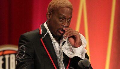 NBA – L'énorme regret qui fait fondre Dennis Rodman en larmes