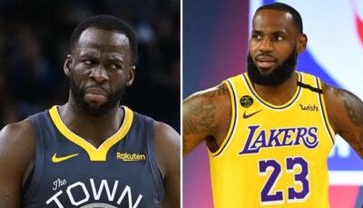 NBA – « Draymond Green n'est pas dans la même catégorie que LeBron, il ne peut pas dire ça »