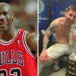 NBA – « Messi est comme Michael Jordan »
