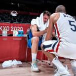 NBA/JO – Les images virales de la détresse de Luka Doncic après la défaite