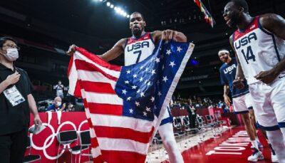 NBA/JO – La déclaration incendiaire et arrogante de Kevin Durant sur la France et les autres !