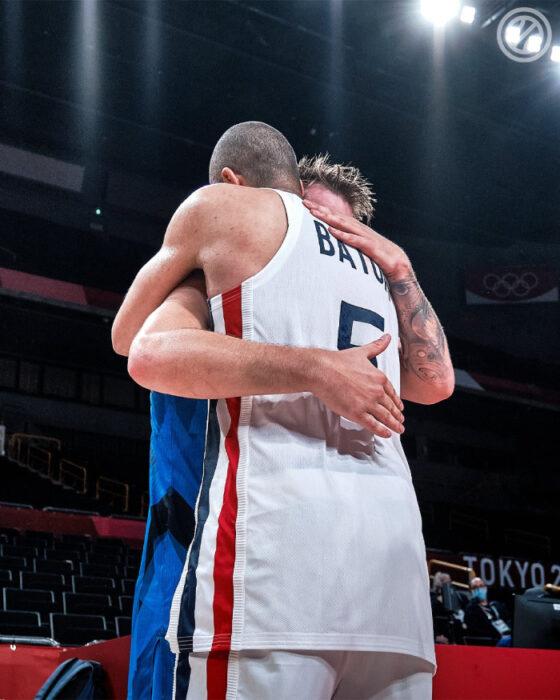 NBA Doncic consolé par Nico Batum après sa défaite