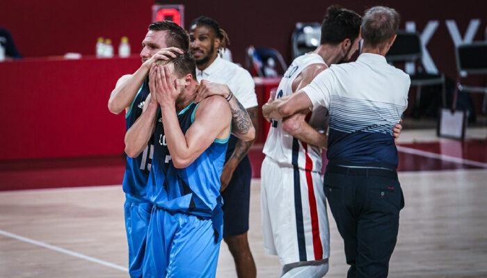 NBA Luka en larmes après la défaite