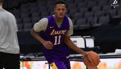 NBA – Joel Ayayi débarque aux Lakers, les fans le prennent pour… Bronny !