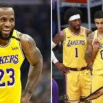 NBA – Les Lakers rendent hommage aux joueurs partis, LeBron réagit !