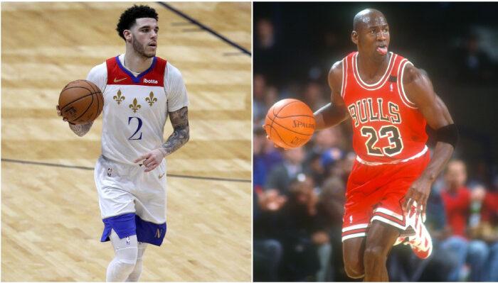 NBA Lonzo bat MJ dans un domaine fou