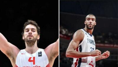 NBA/JO – L'Espagne éliminée, Rudy Gobert envoie un message à Pau Gasol !