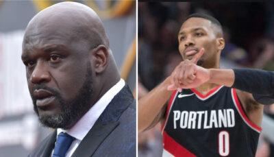 NBA – Lillard lâche le domaine où il est le meilleur all-time, Shaq furieux ?