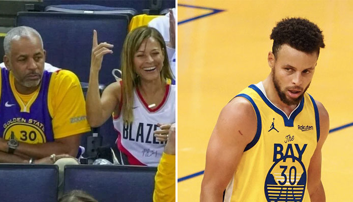 NBA Steph défend sa mère contre Dell