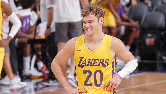 Mac McClung a brillé avec les Lakers