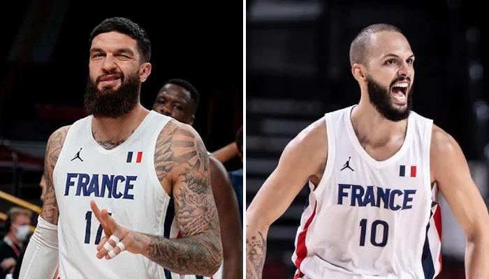 NBA Poirier et Fournier réagissent au classement de la FIBA