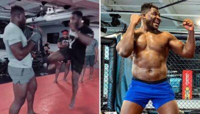 UFC – Une star apprend un nouveau coup dévastateur à Francis Ngannou !