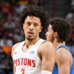 NBA – La vraie raison pour laquelle Cade Cunningham ne joue pas