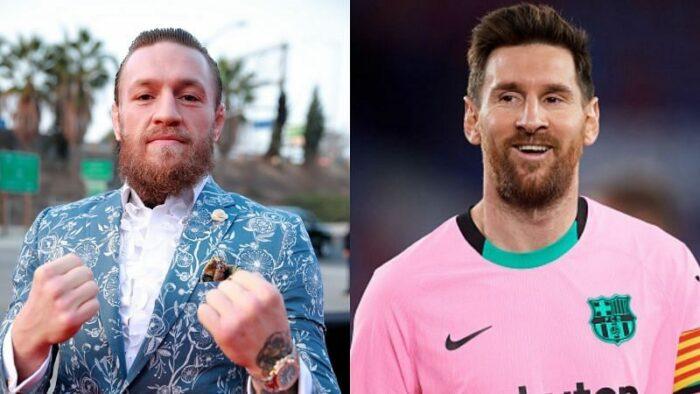 Conor McGregor et Lionel Messi
