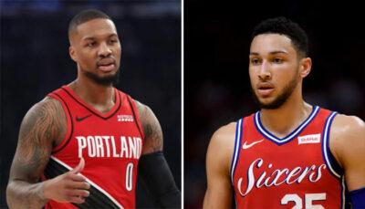 NBA – Damian Lillard lié au futur de Ben Simmons ? 3 franchises dans le coup !