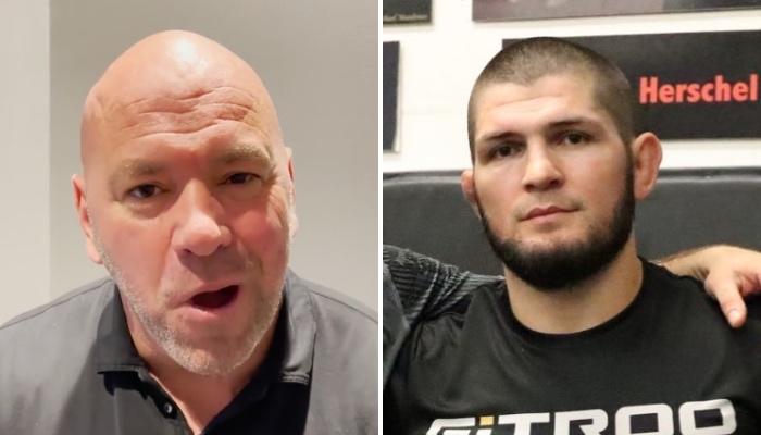 Le boss de l'UFC, Dana White, a livré une déclaration chas sur Khabib Nurmagomedov