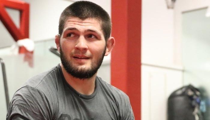 La star de l'UFC Khabib Nurmagomedov a partagé une photo le montrant s'adonner à un passe-temps insolite