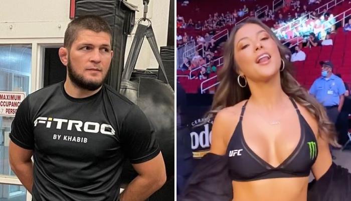 L'ancienne superstar de l'UFC, Khabib Nurmagomedov, a lâché une violente punchline concernant les ring girls de l'organisation
