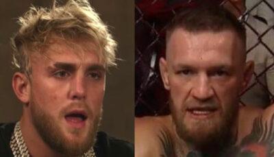 UFC – Trop confiant, Jake Paul répond à McGregor… et le plombe salement !