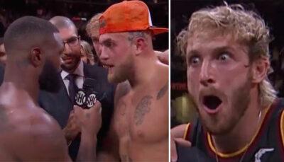 Fight – Après la victoire, Jake Paul fait une proposition humiliante à Woodley… il accepte !