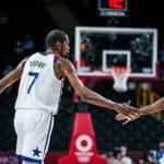 NBA/JO – Le savon réussi de Draymond Green à Kevin Durant en plein match !
