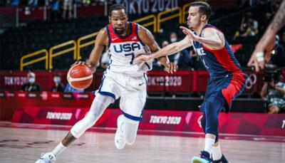 NBA/JO – Injouable, Kevin Durant s'amuse face à la France et offre l'or à Team USA !