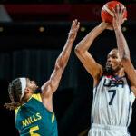 NBA/JO – Après une frayeur contre l'Australie, Team USA déroule grâce à un énorme Kevin Durant !