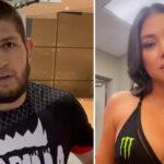 UFC – Une star recadre Khabib après ses propos sauvages sur les ring girls