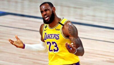 NBA – Un nouveau t-shirt de LeBron James se fait humilier