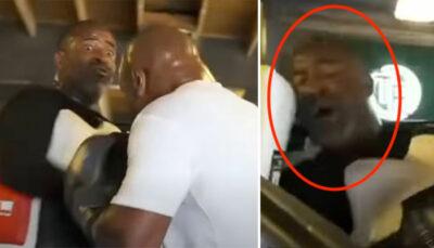 Fight – Déchainé, Mike Tyson choque son coach… et frôle de le mettre KO ! (vidéo)