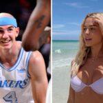 NBA – Alex Caruso s'affiche avec sa nouvelle conquête, les fans en fusion !