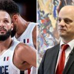 NBA – Le ministre Blanquer répond à Evan Fournier après la polémique des JO !