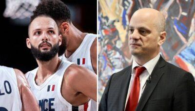 NBA – Après la polémique, la photo virale d'Evan Fournier et Jean-Michel Blanquer !