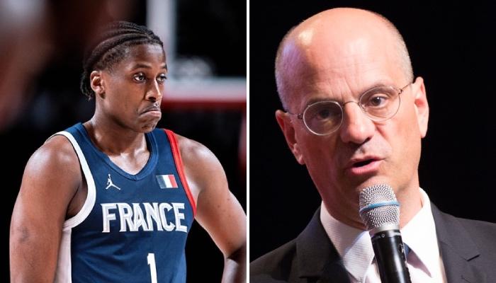 Après Vincent Poirier et Evan Fournier, le meneur NBA de l'équipe de France de basket, Frank Ntilikina, a répondu aux propos polémique du ministre de l'Éducation nationale, Jean-Michel Blanquer