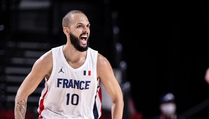 L'arrière star de l'équipe de France, Evan Fournier, a poussé une gueulante avant la finale des Jeux olympiques opposant les Bleus à Team USA