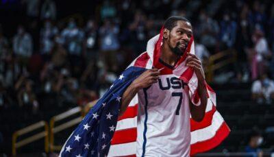 NBA/JO – Le meilleur 5 des JO dévoilé avec un seul Français, Kevin Durant MVP !