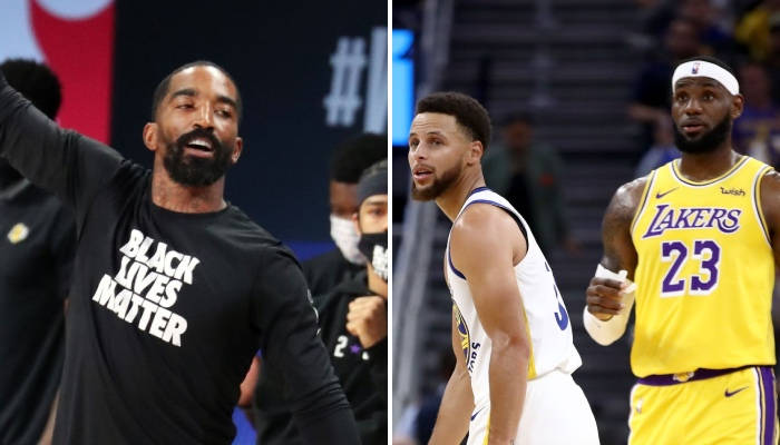 L'ancien arrière NBA J.R. Smith s'est lancé dans une toute nouvelle carrière sportive, ce qui n'a pas manqué de faire réagir les superstars de la ligue Stephen Curry et LeBron James