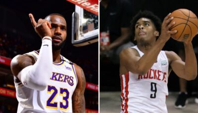 NBA – Le rookie méconnu adoubé par LeBron : « Continue de briller Young King »