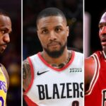 NBA – LeBron ou Jordan ? Damian Lillard tranche dans le débat du GOAT !