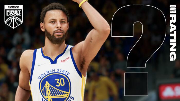 Stephe Curry dans NBA 2K22