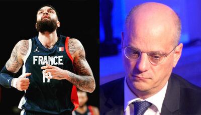 NBA/JO – Vincent Poirier met un gros tacle au ministre Jean-Michel Blanquer !