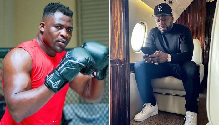 Francis Ngannou a envoyé un message à 50 Cent