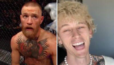 UFC – Une star humilie McGregor : « Quel homme qui se respecte demande une photo à Machine Gun Kelly ? »
