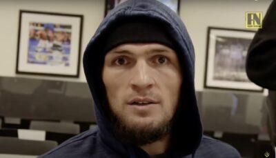 UFC – Khabib donne son avis cash sur les combattants qui se dopent !