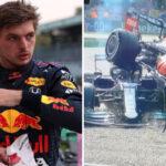 Formule 1 – Les premiers mots glaciaux de Max Verstappen après  son crash avec Lewis Hamilton !