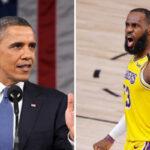 NBA – « LeBron devrait être respecté comme Barack Obama »