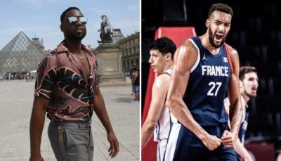 NBA – En visite à Paris, Dwyane Wade envoie un message à Rudy Gobert !