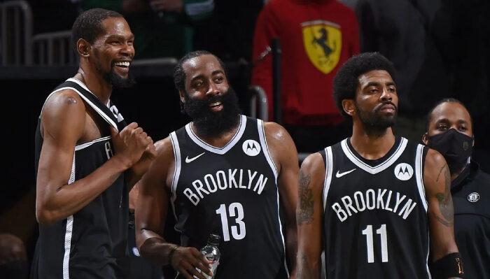 NBA Le trio de choc de Brooklyn
