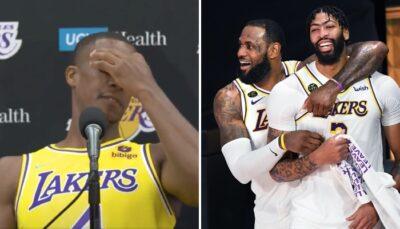 """Anthony Davis et LeBron ont fait """"pleurer"""" Rajon Rondo"""